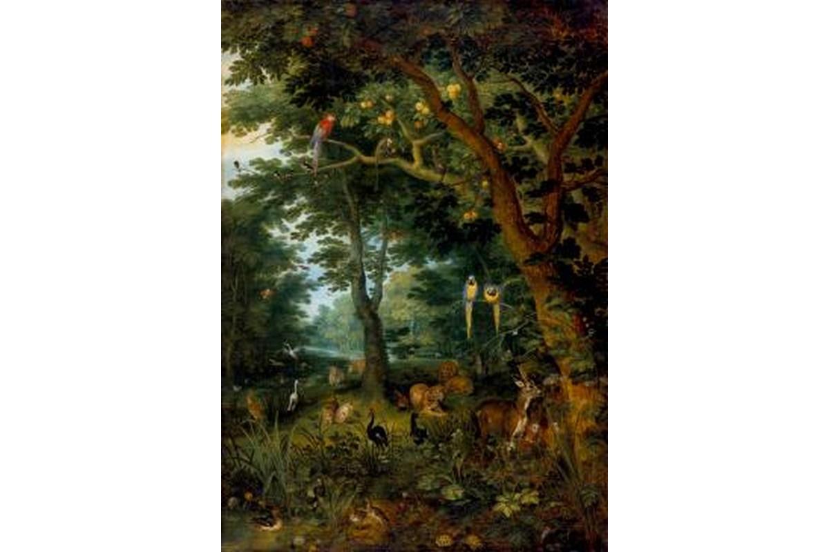Miniprint Brueghel d.J., Paradies