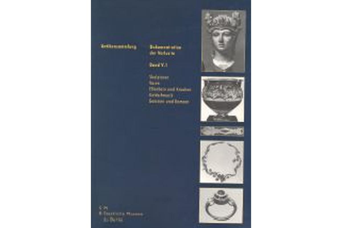 Skulpturen, Vasen, Elfenbein und Knochen, Goldschmuck, Gemmen und Kameen