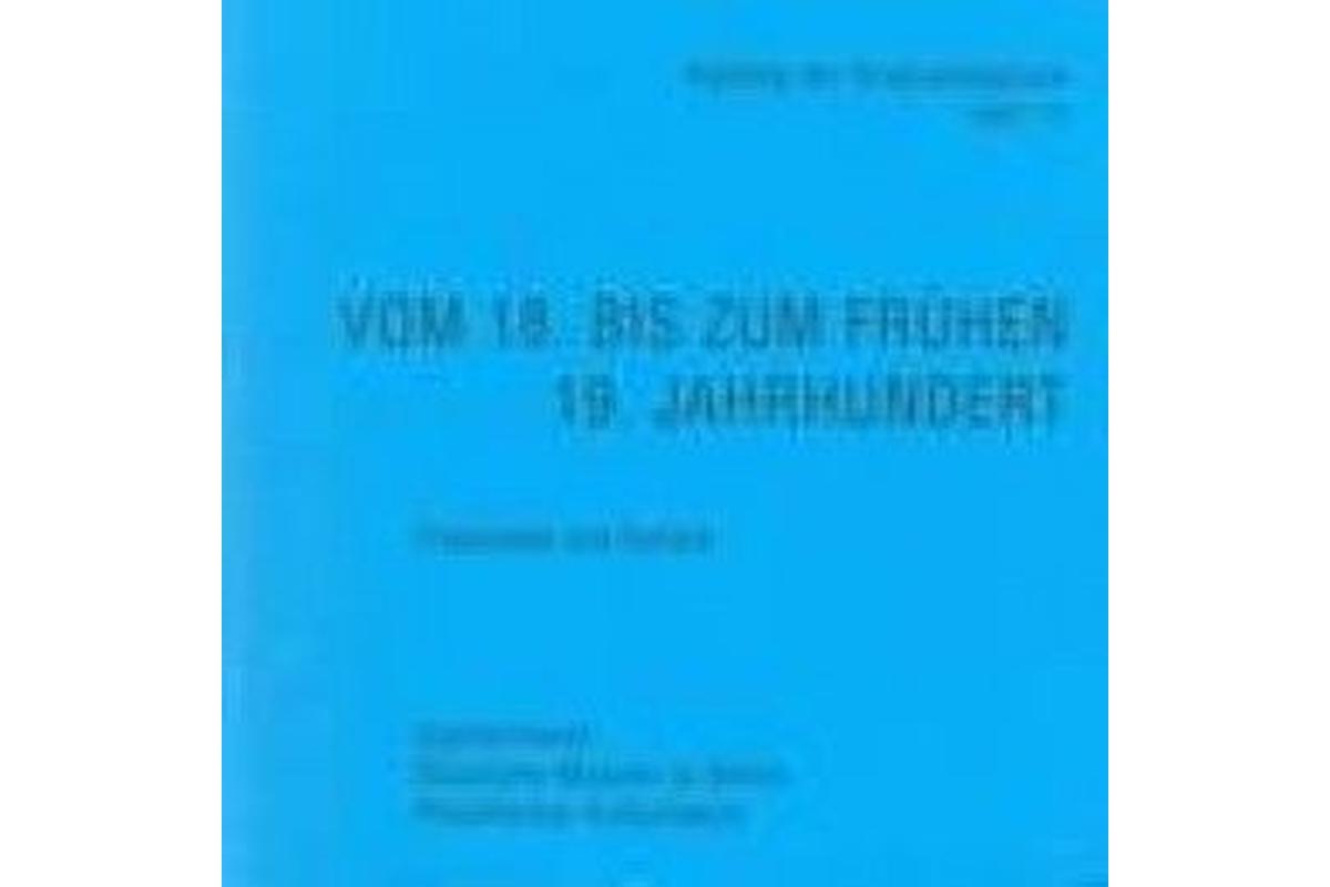 Gipsformerei - Katalog der Originalabgüsse, Heft 11: Vom 18. Jahrhundert bis zum frühen 19. Jahrhund