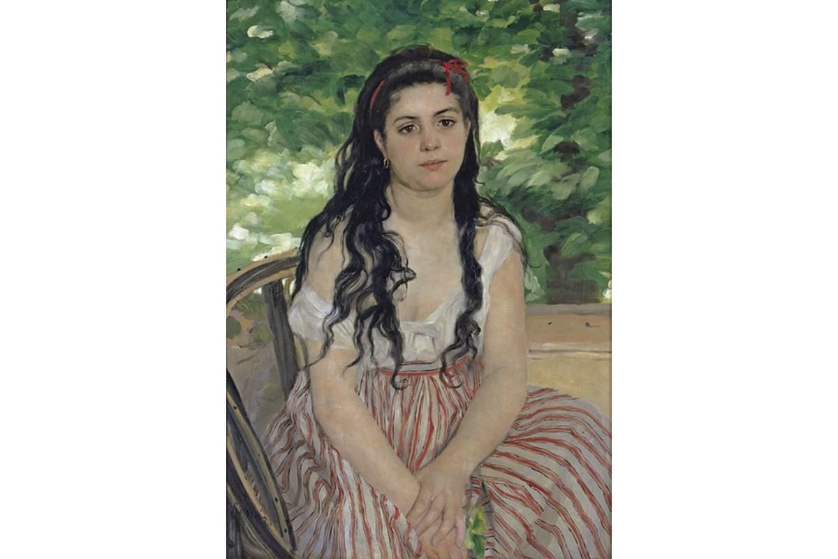 Kunstdruck Renoir, Im Sommer