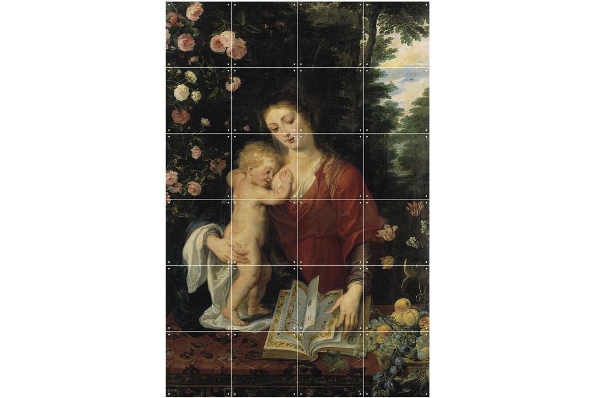 Wandbild Rubens, Maria mit dem Kind