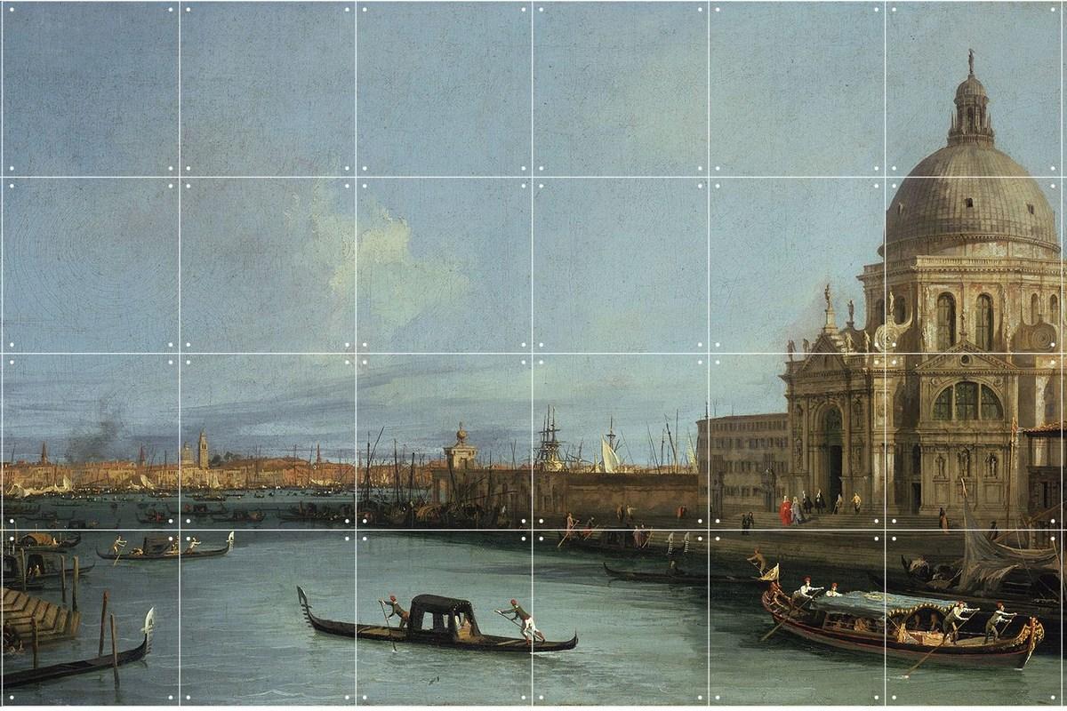 Wandbild Canaletto (groß), Canal Grande