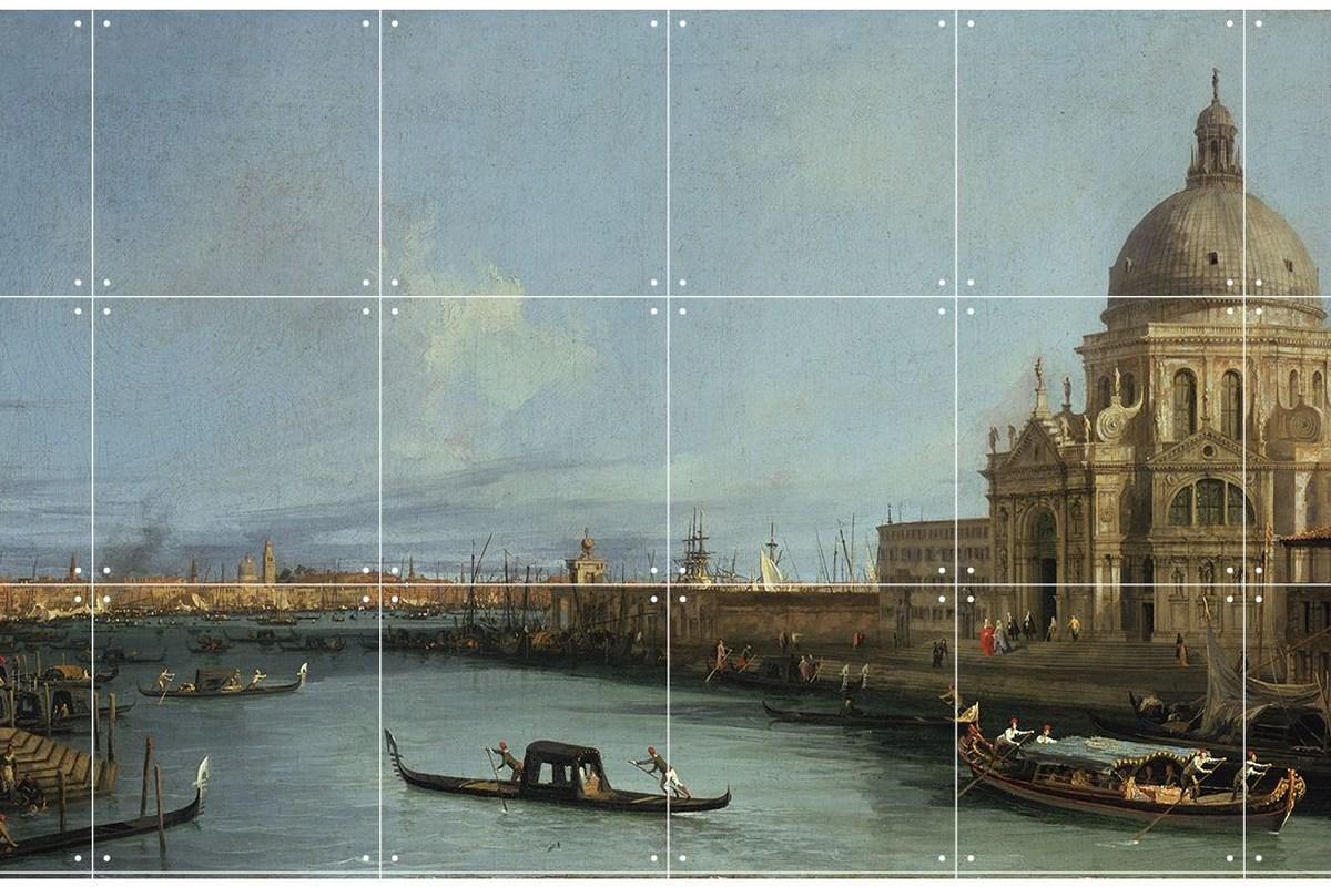 Wandbild Canaletto (klein), Canal Grande