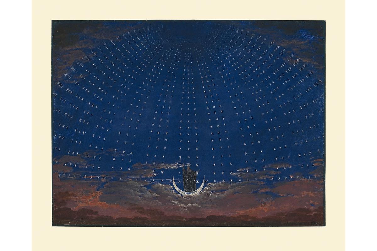 Kunstdruck: Schinkel, Sternenhalle