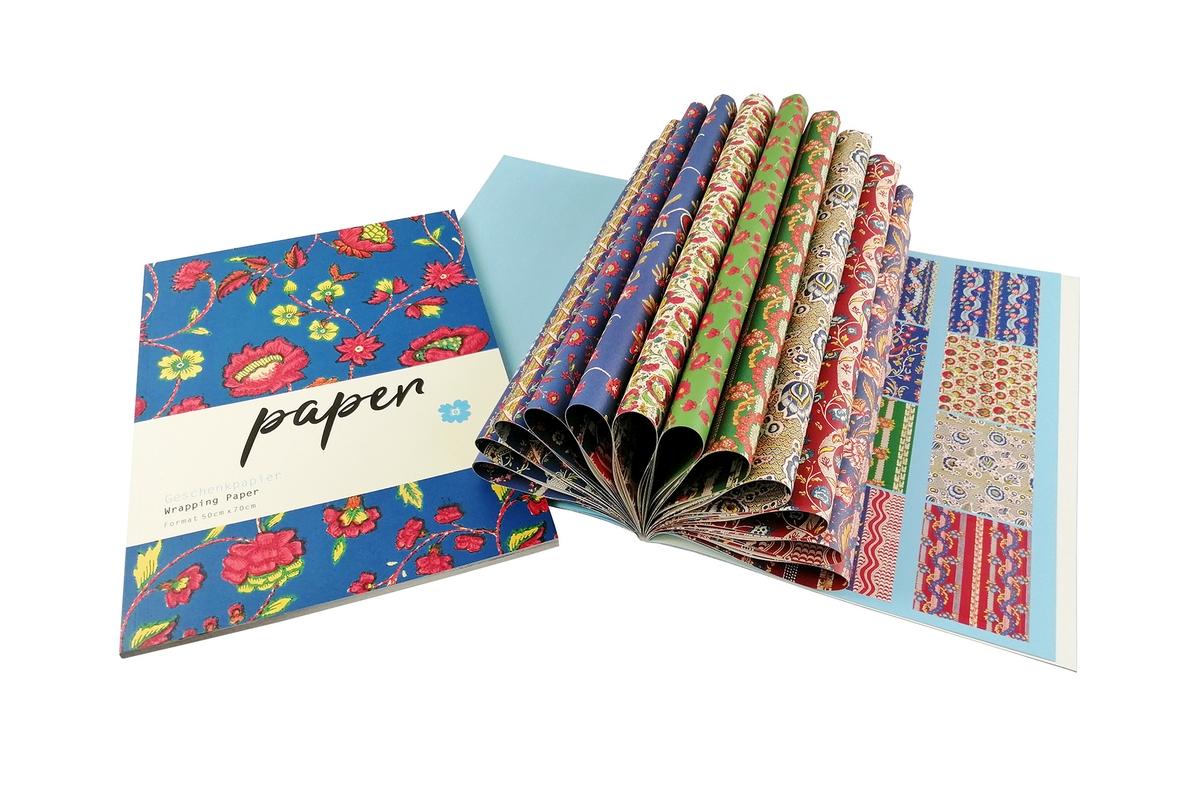 Geschenkpapier: Blumenpapiere