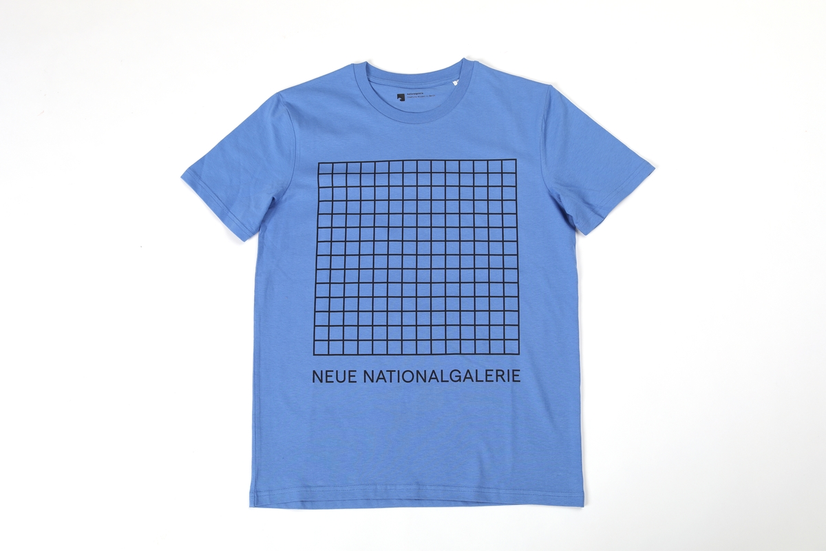 T-Shirt, blau Neue Nationalgaleri