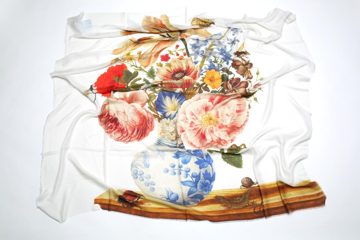 Tuch Merian: Chinesische Vase