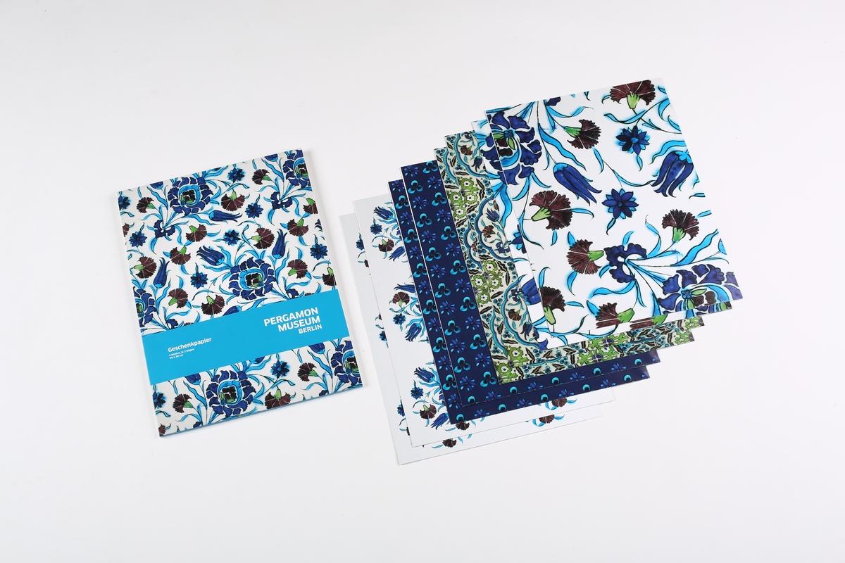 Geschenkpapier-Set Iznik