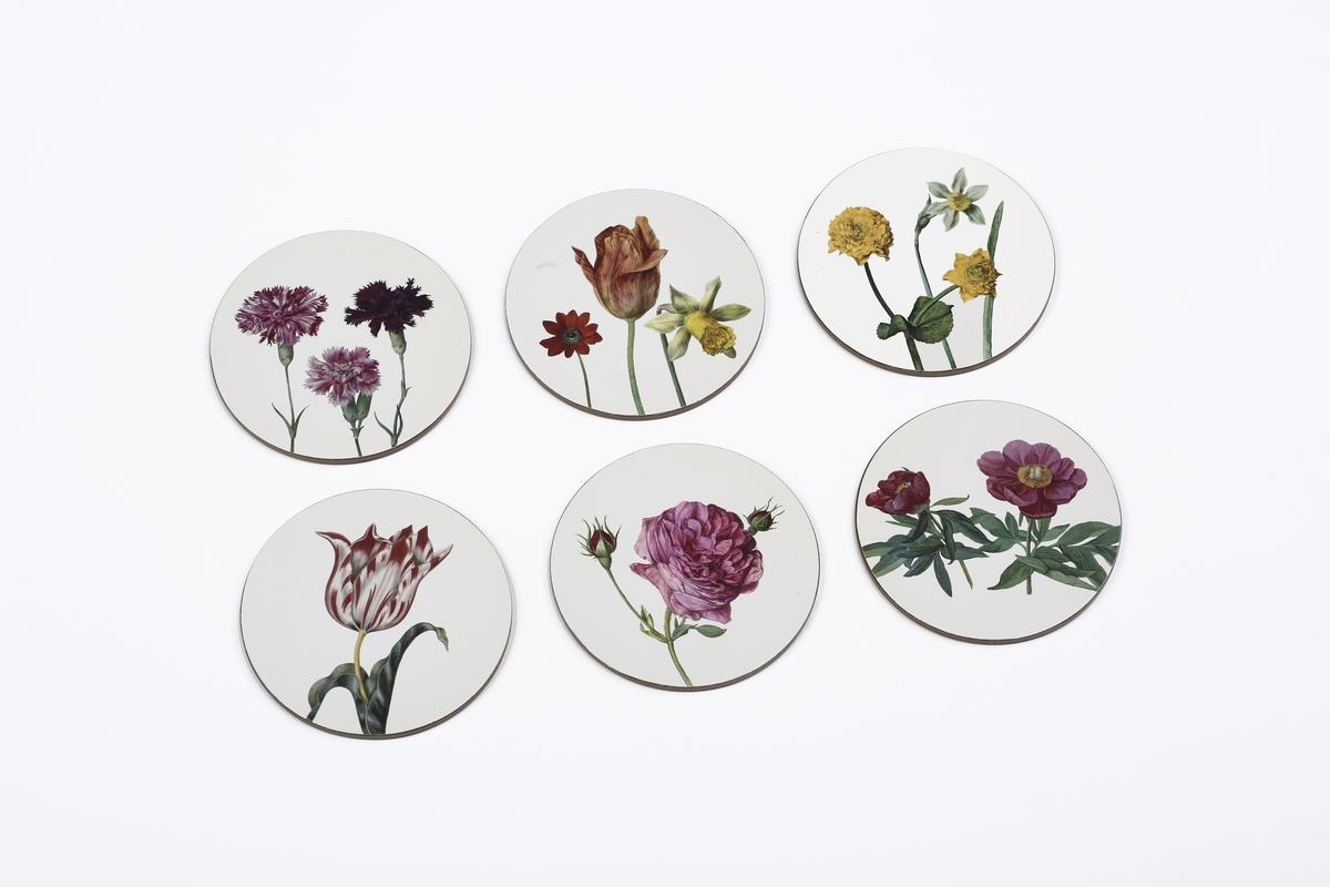 Untersetzer-Set Flegel, Blumen