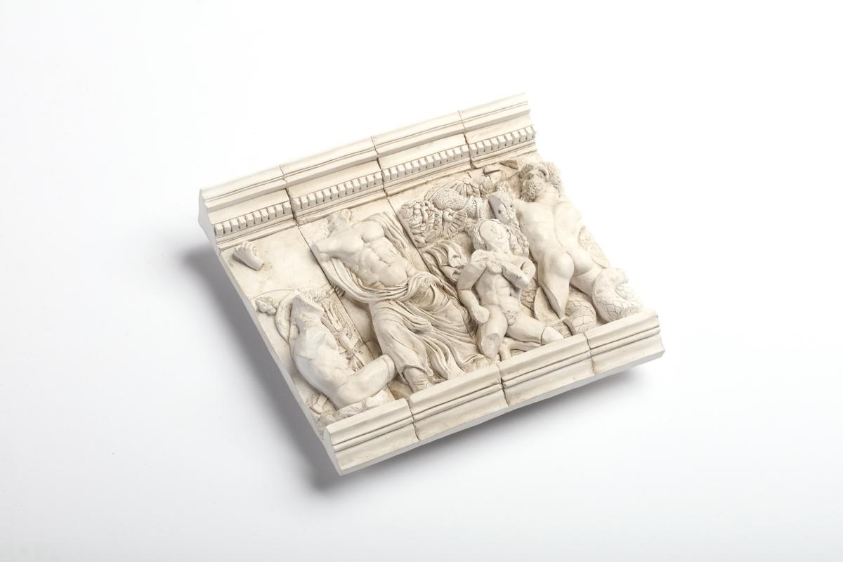 Relief replica Zeus group, Pergamon Altar