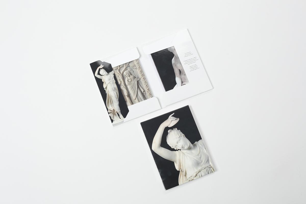 Doppelkarten-Set Skulpturensammlung