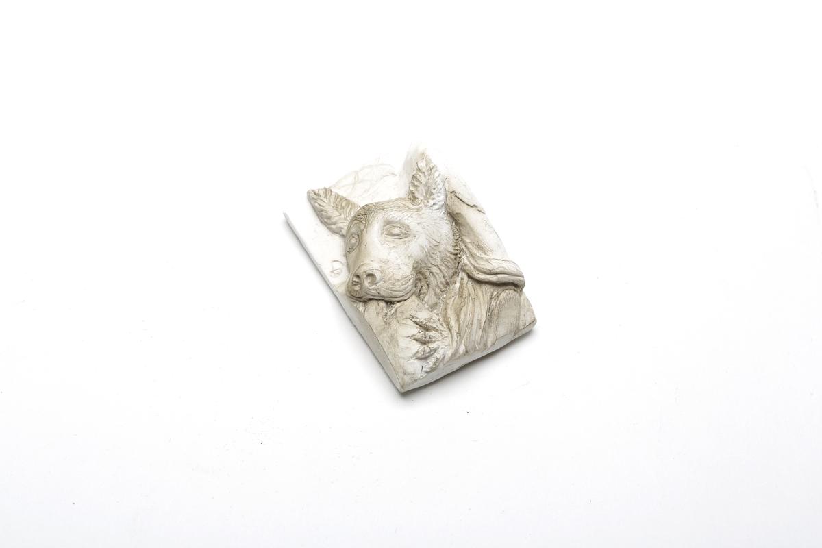 Magnet Hund Pergamonfries