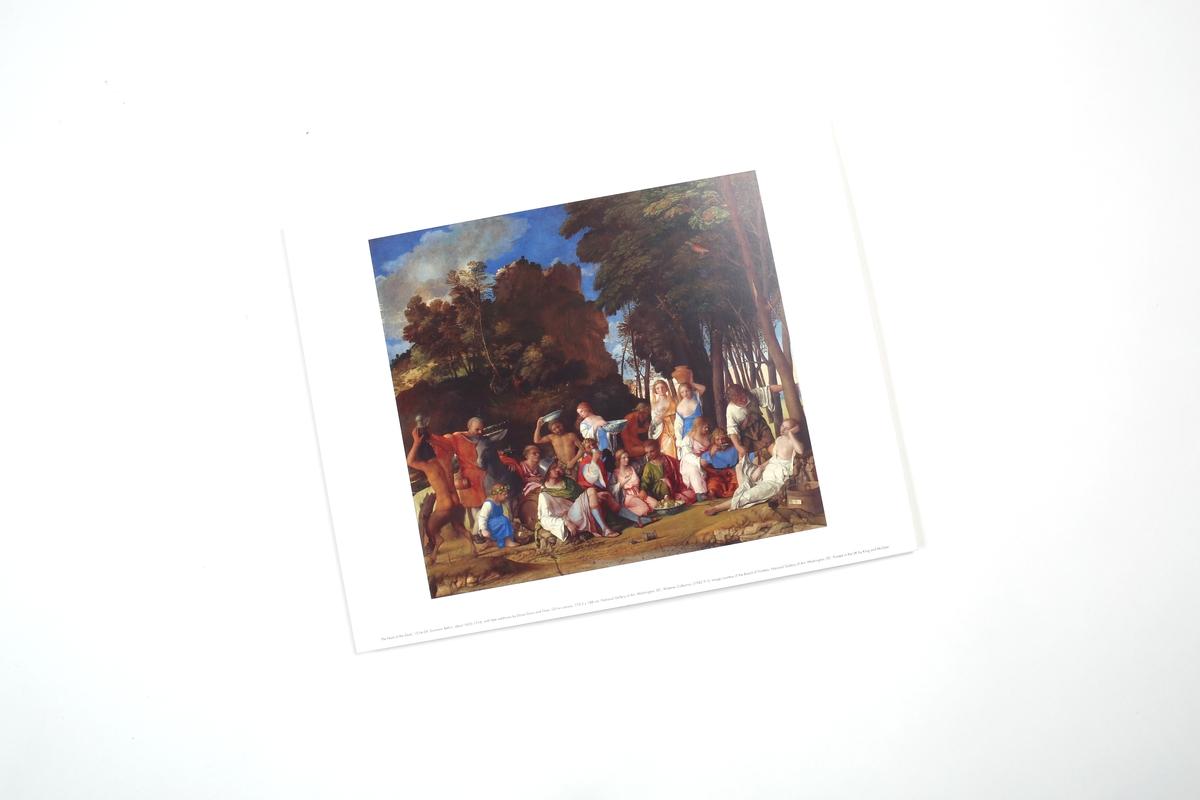 Miniprint Bellini, The Feast of Gods