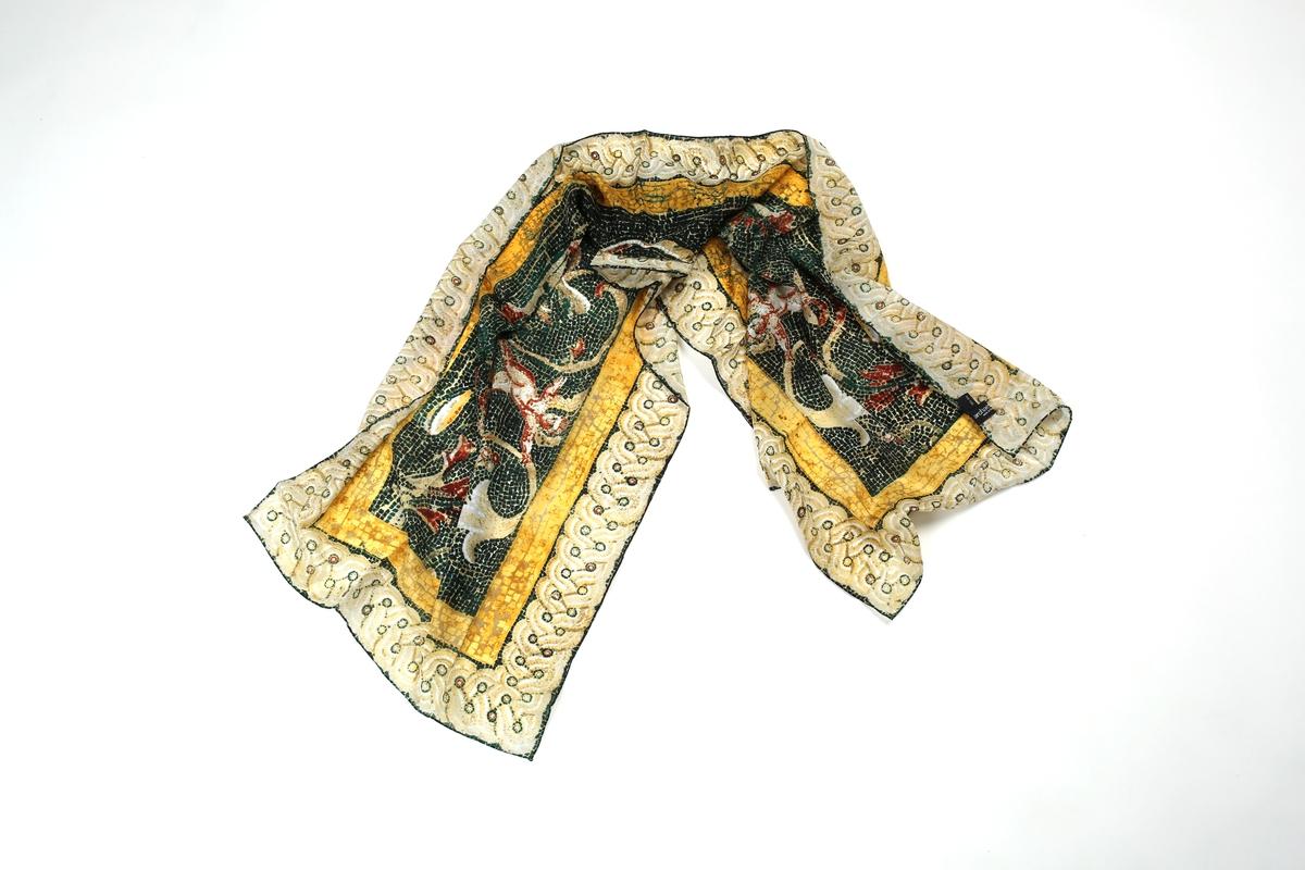 Seidenschal: Hephaistion-Mosaik
