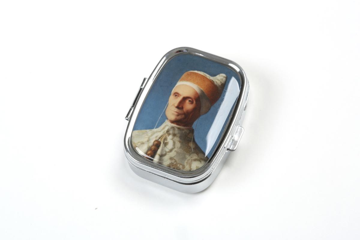 Pill box Bellini, The Doge Leonardo Loredan