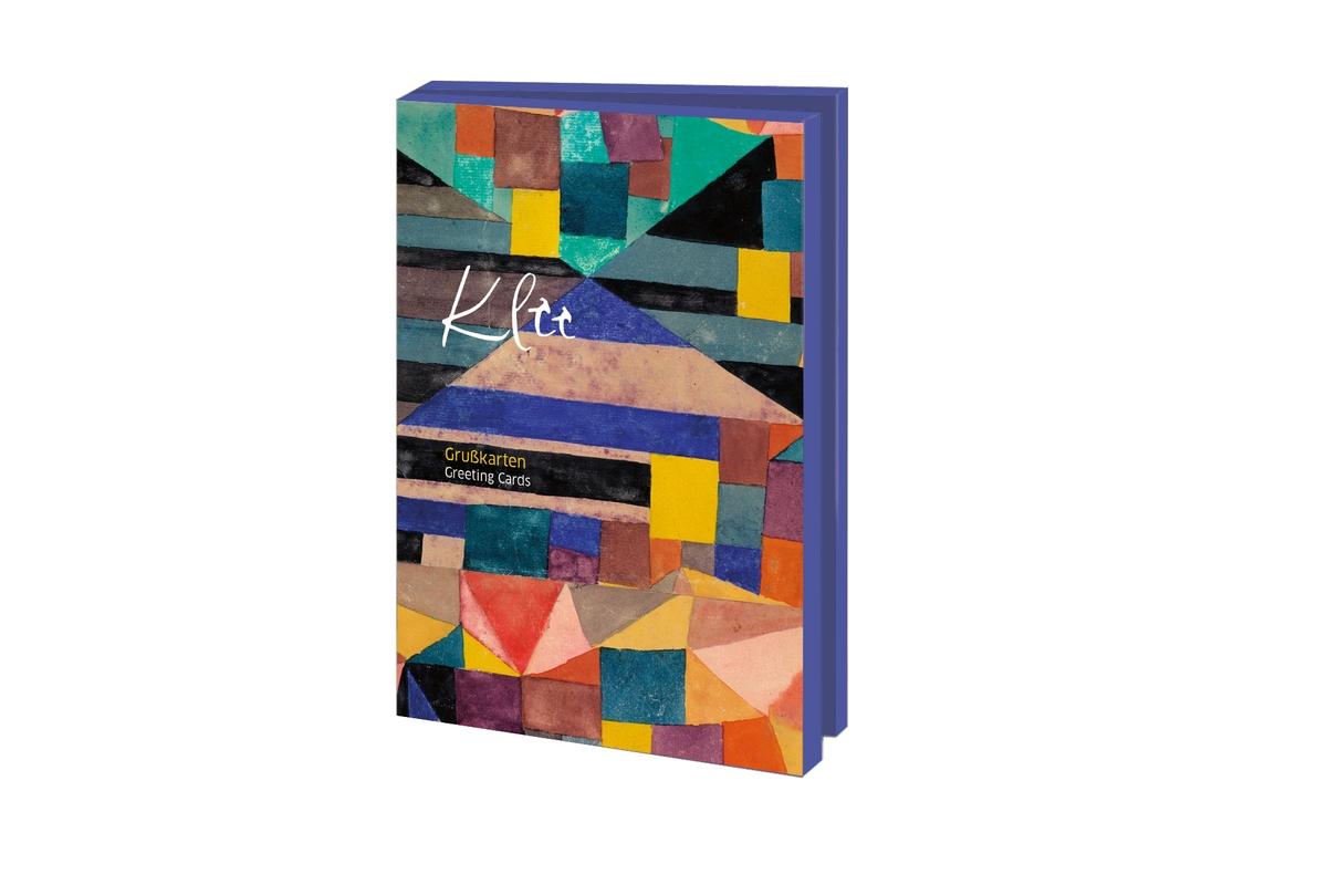 Grußkartenset Paul Klee