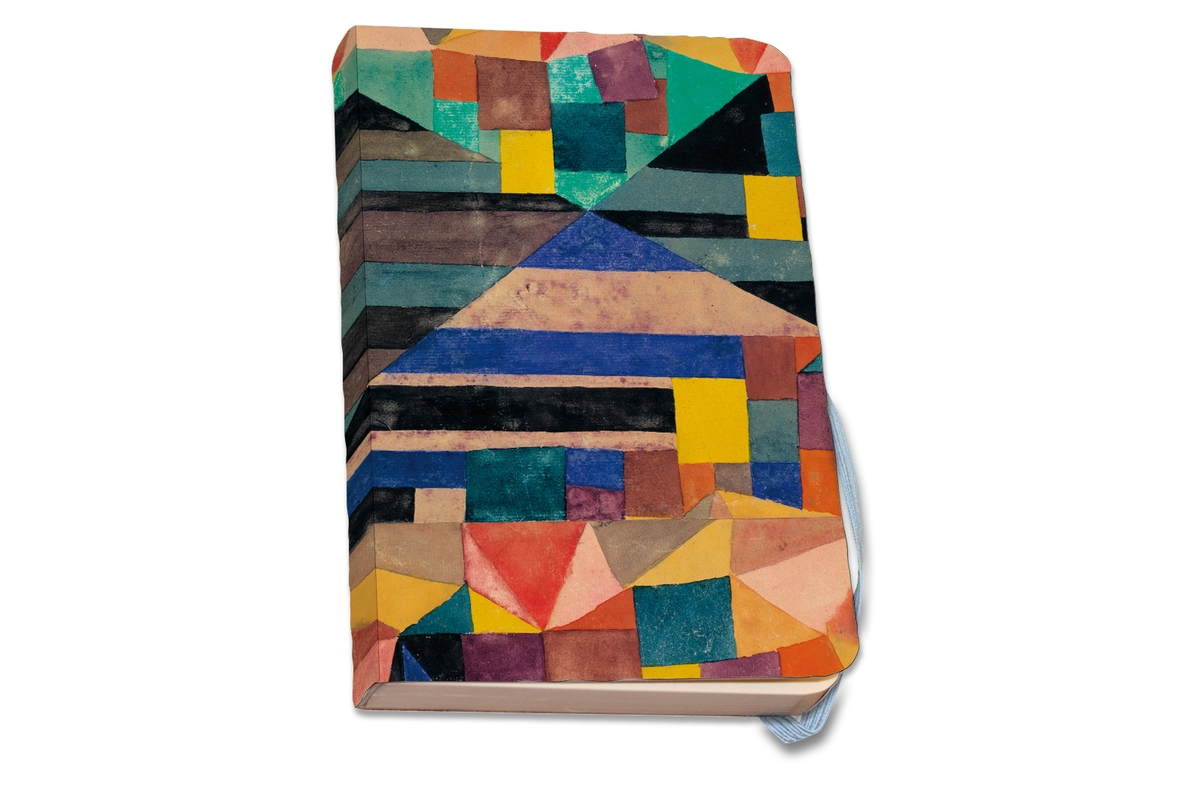 Notizbuch A5 Paul Klee: Blauer Berg