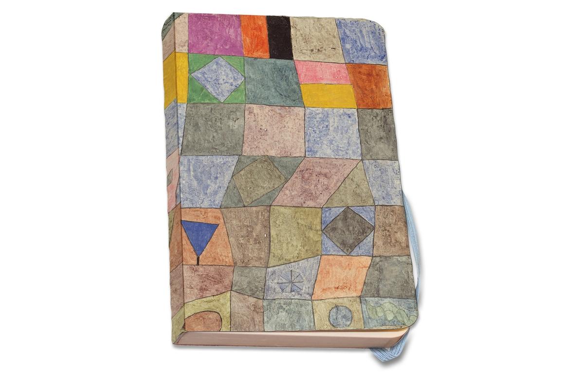 Notizbuch A5 Paul Klee: Freundliches Spiel