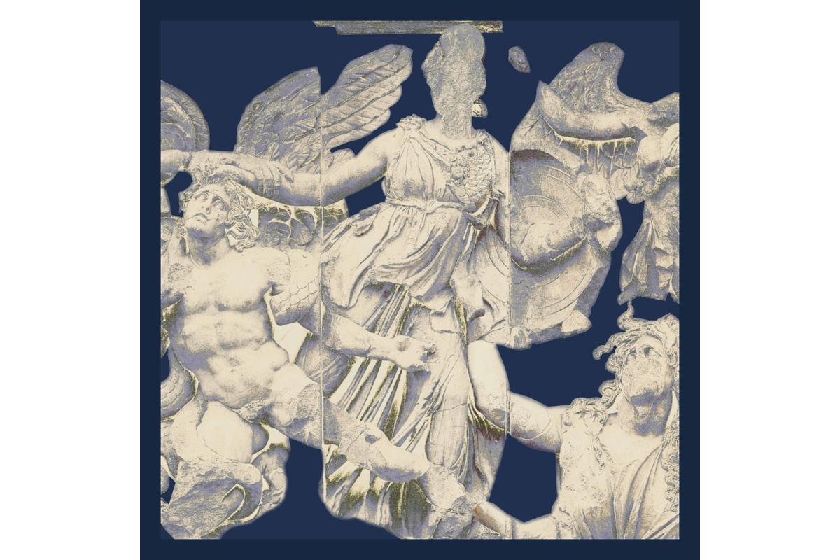 Seidentuch: Pergamon