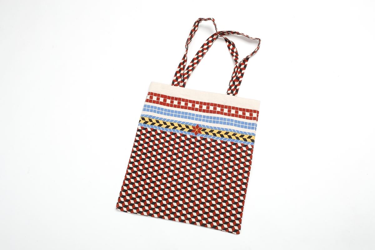 Tasche braun, Fußboden-Mosaik Neues Museum
