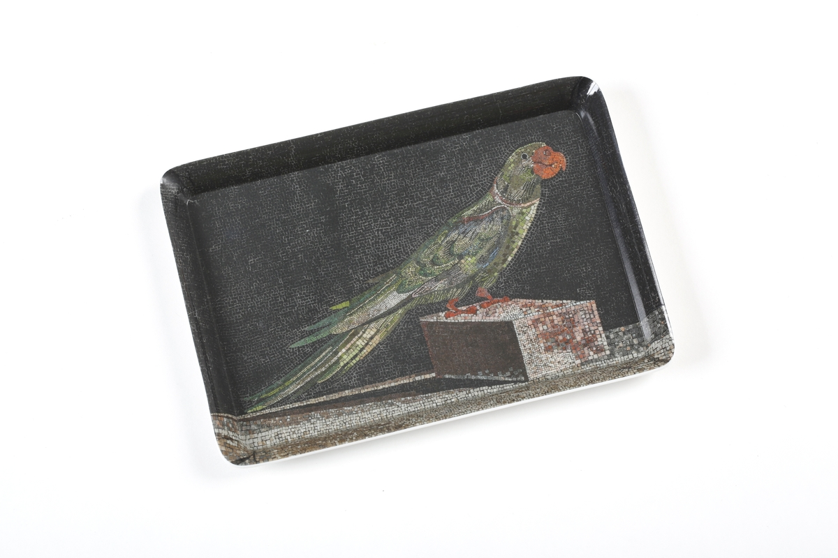 Serving tray Parrot