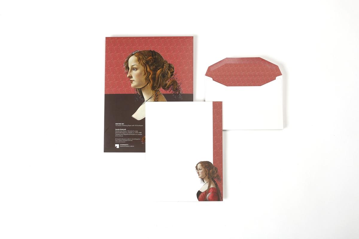Briefpapier Botticelli: Simonetta Vespucci