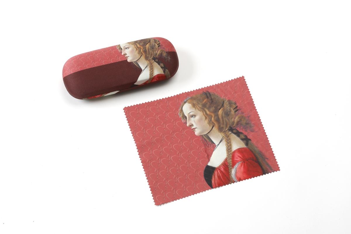 Brillenetui Botticelli: Simonetta Vespucci