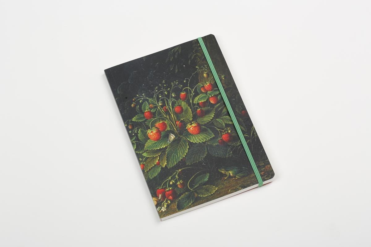Notizbuch A5 Schlesinger, Erdbeeren