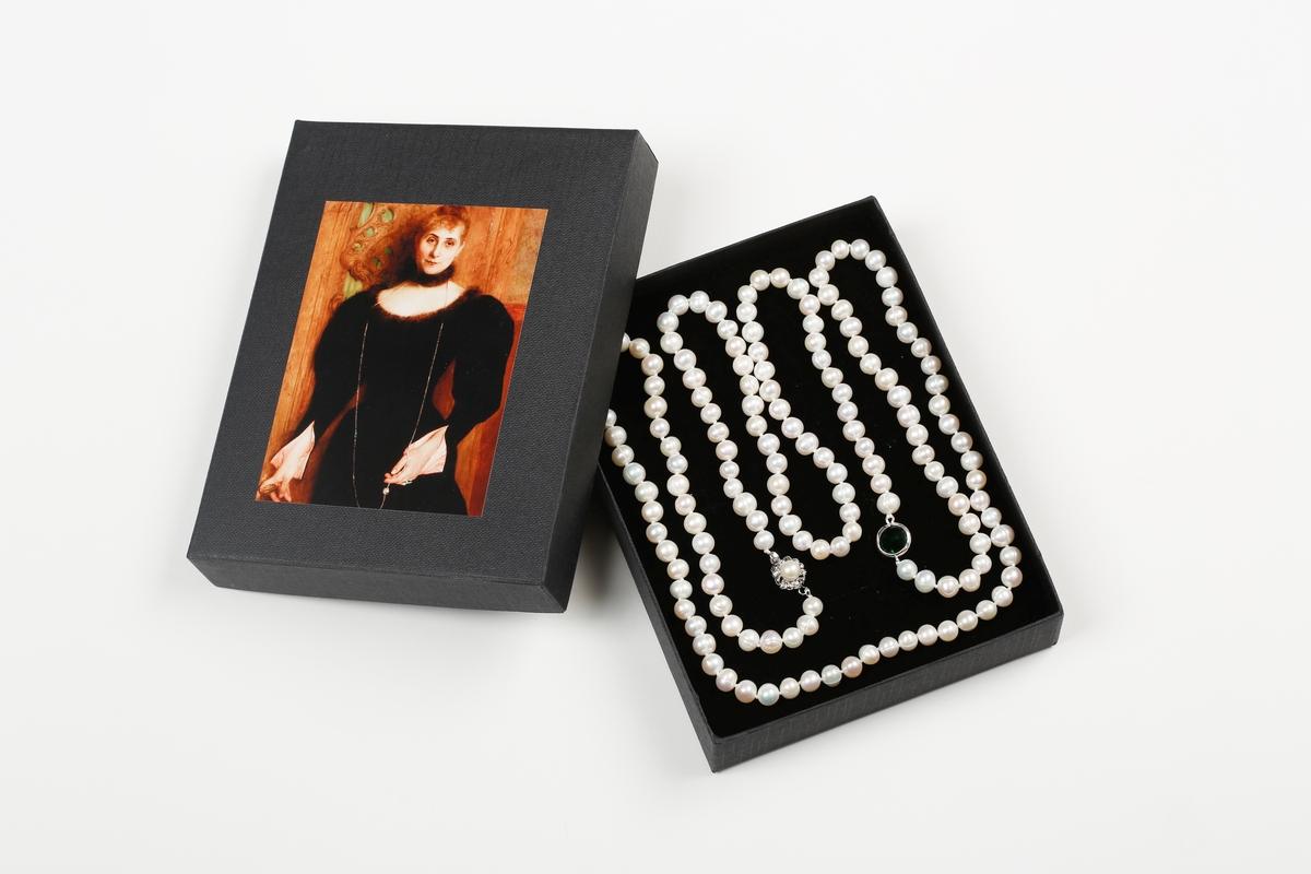 Perlenkette Courtois, Frau Kreismann