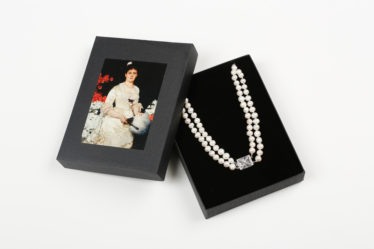 Perlenkette Gussow, Frau Hedwig Woworsky