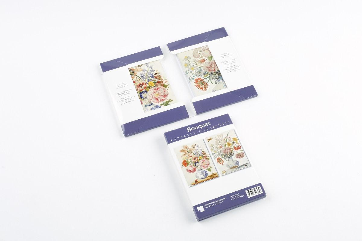 Kartenset Bouquet