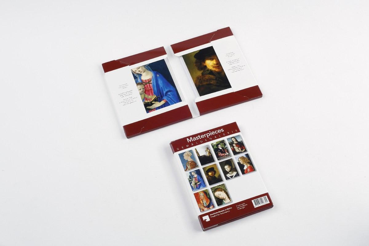 Kartenset Masterpieces Gemäldegalerie