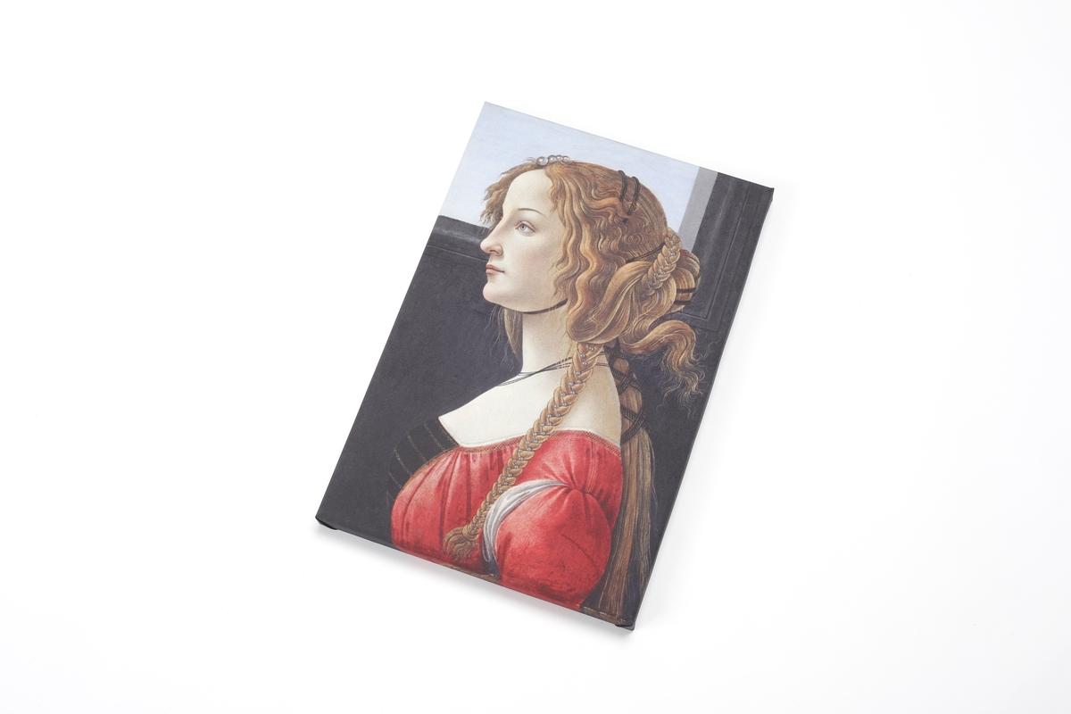 Leinwand mit Keilrahmen Botticelli: Portrait Simonetta Vespucci