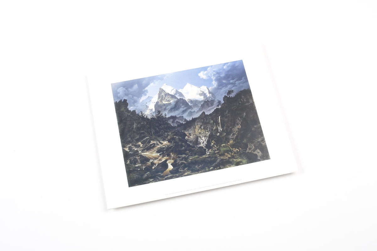 Miniprint Biermann: The Wetterhorn
