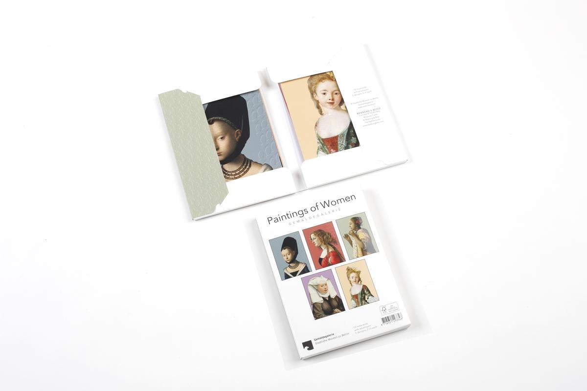 Kartenset: Frauenportraits