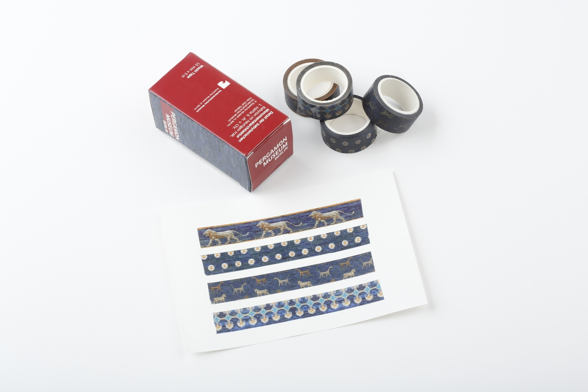 Washi Tape Ischtar-Tor, 4er Set