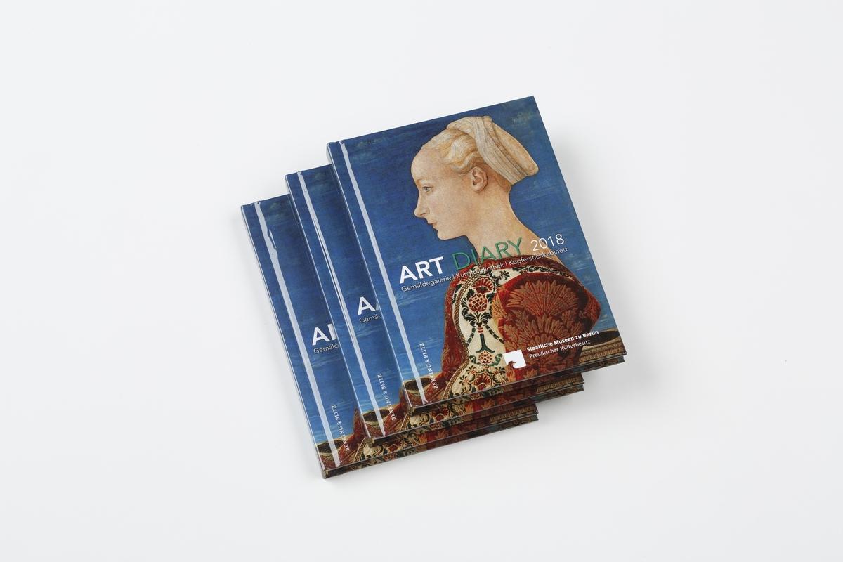 Kalender Art Diary 2018 SMB
