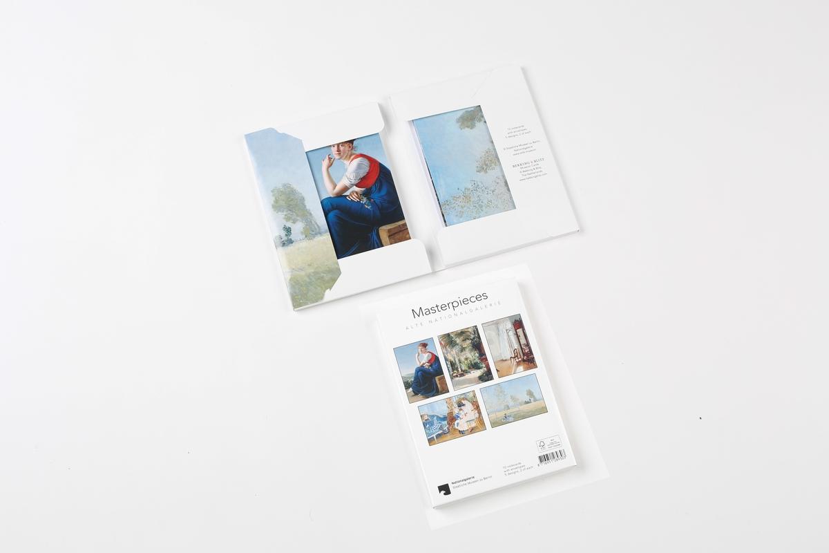 Kartenset Meisterwerke Alte Nationalgalerie
