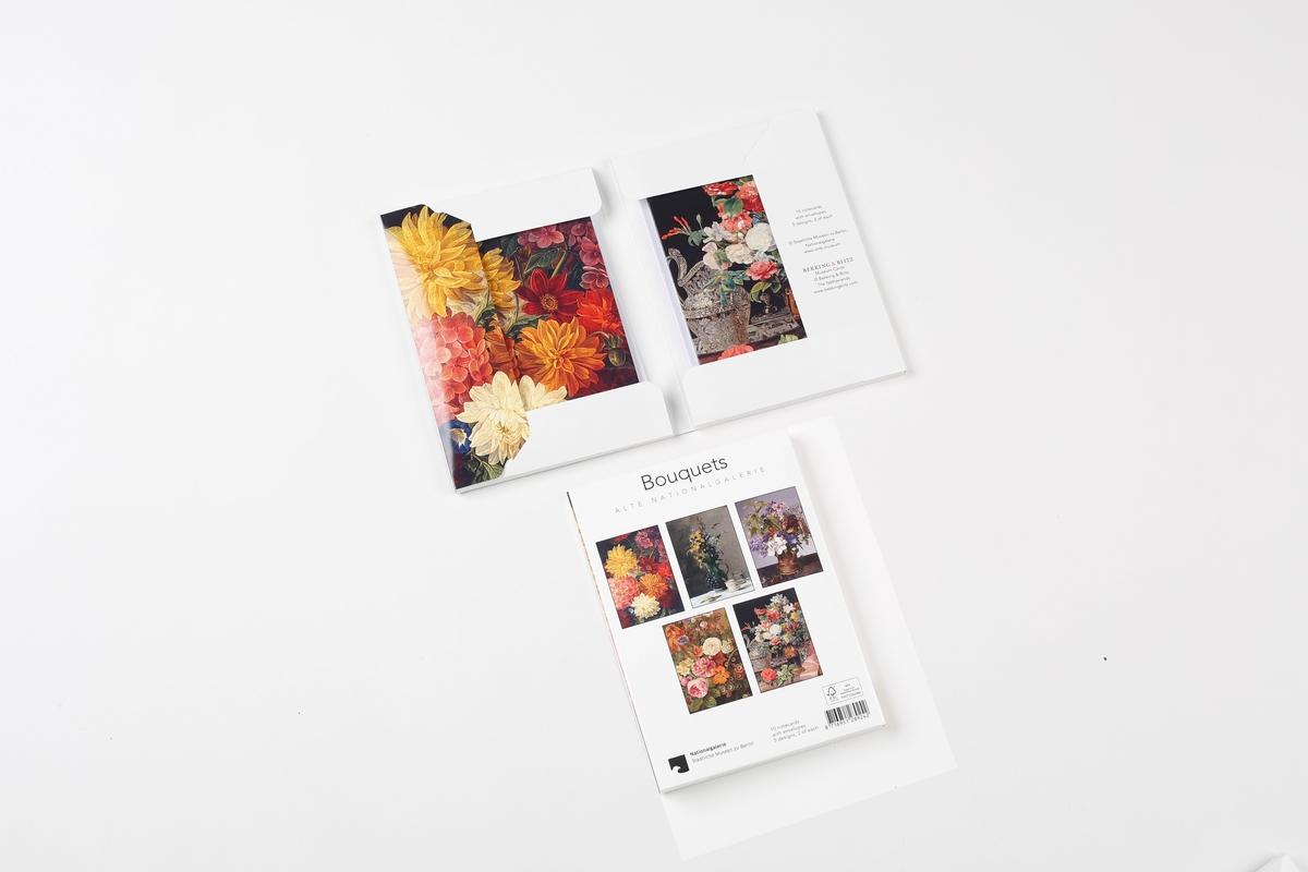 Set of notecards Bouquet Alte Nationalgalerie