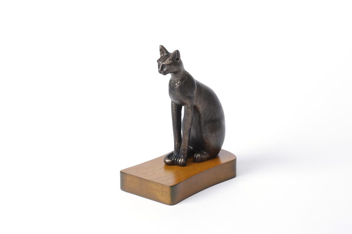 Replik: Statuette der Göttin Bastet, klein