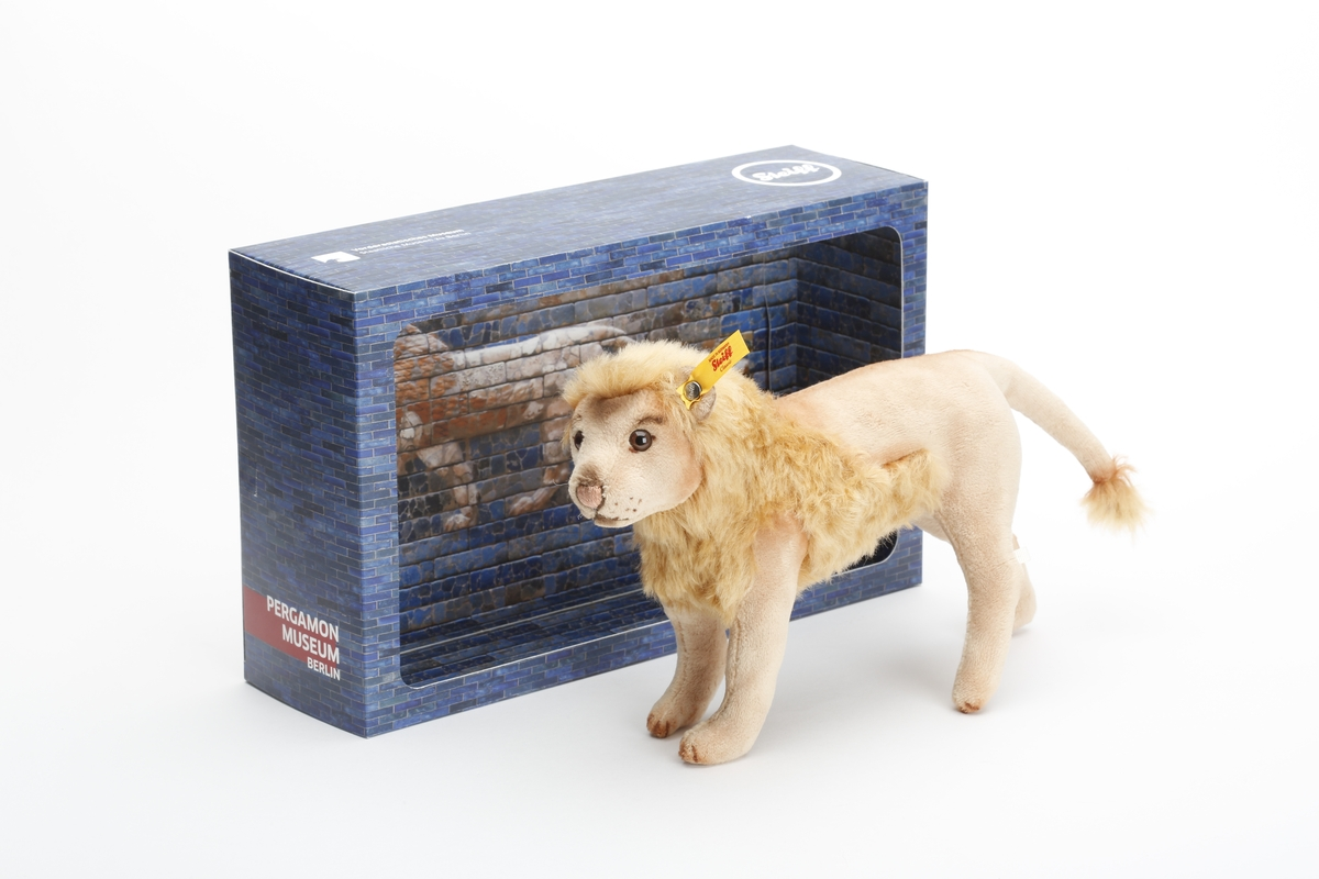 Labbu, Lion from the Processional Way, Soft Toy, Steiff
