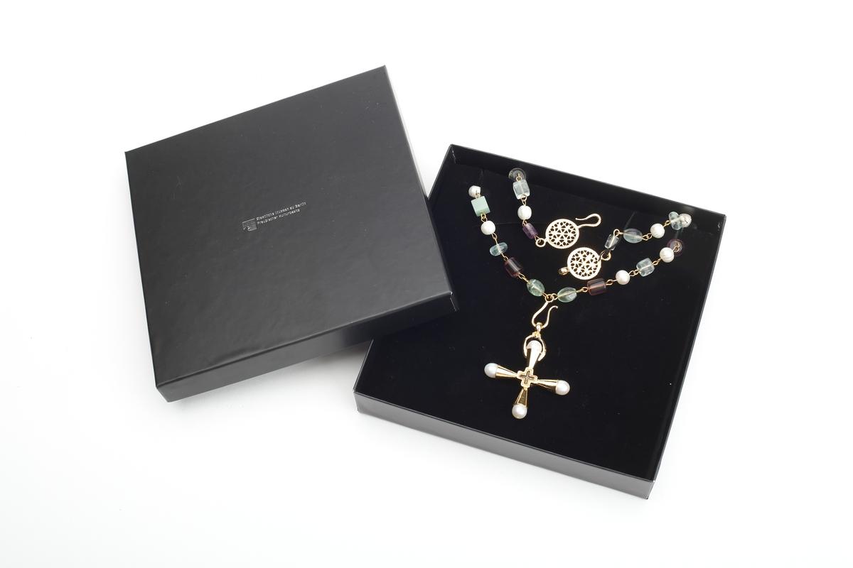 Replik einer byzantinischen Kreuzkette