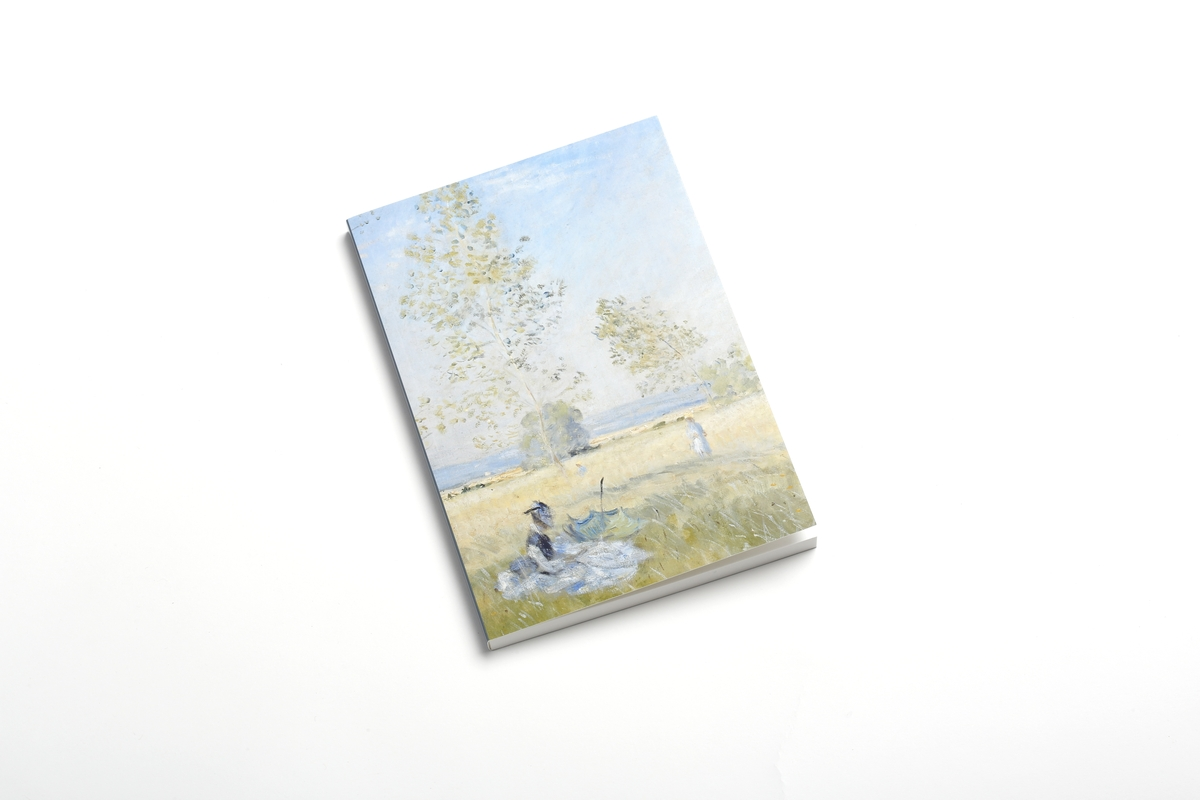 Notizbuch: Monet, Sommer
