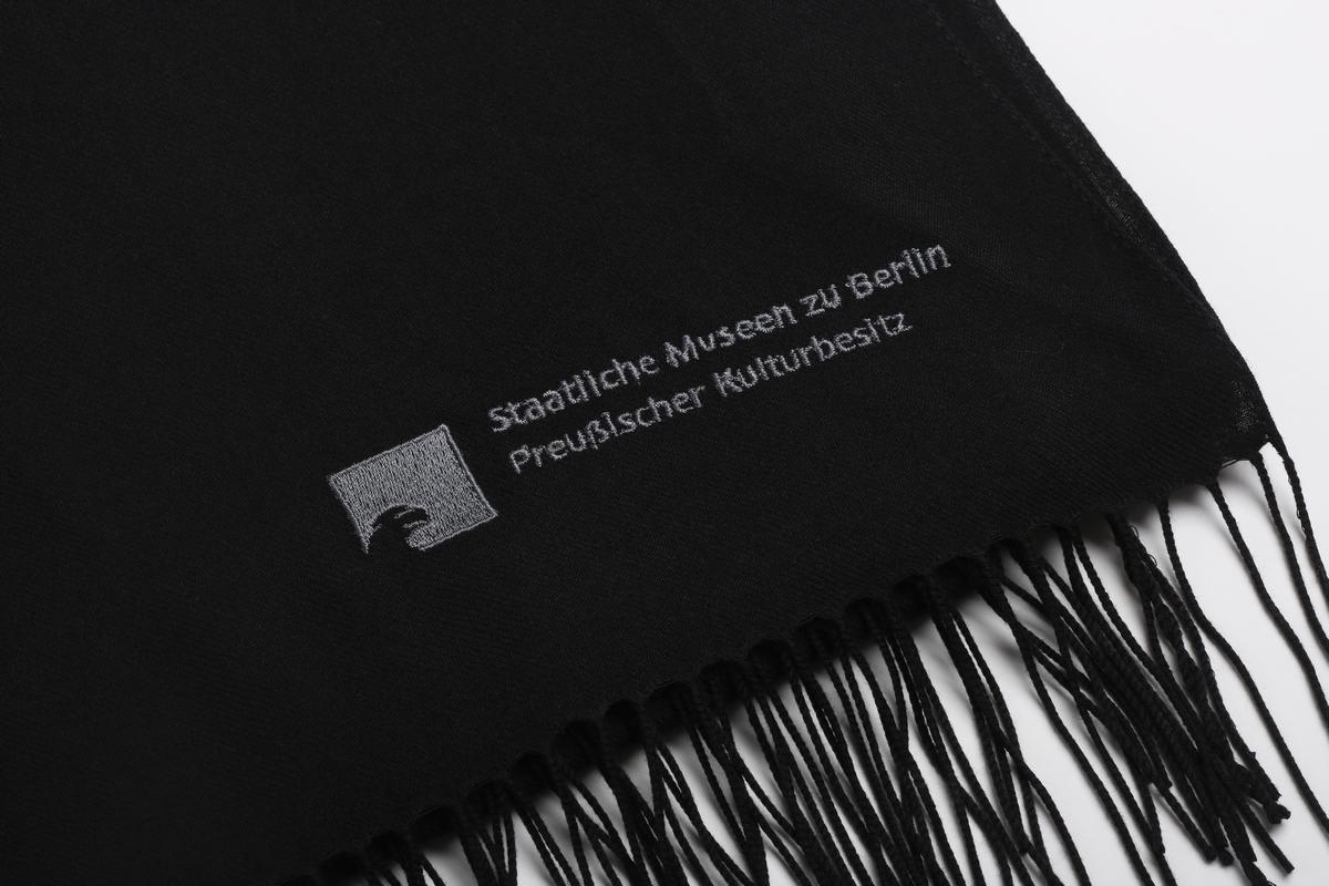 Pashmina-Schal schwarz