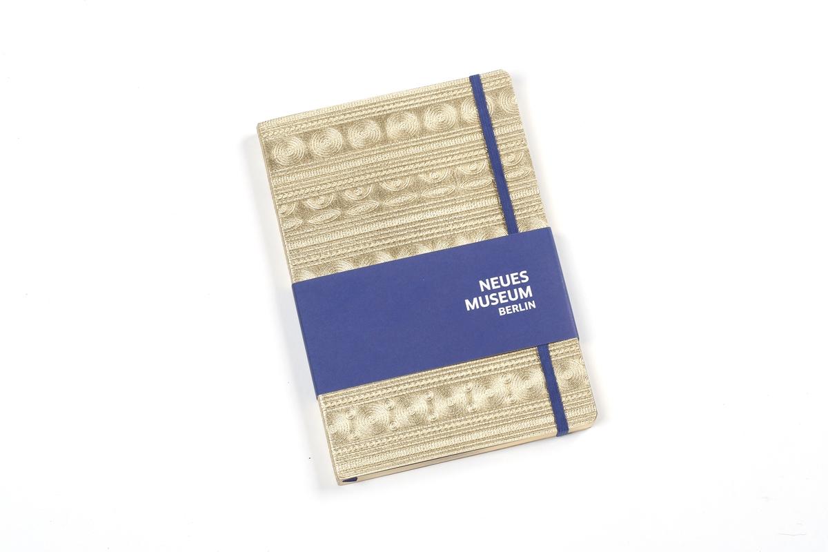 Notizbuch inspiriert vom Berliner Goldhut