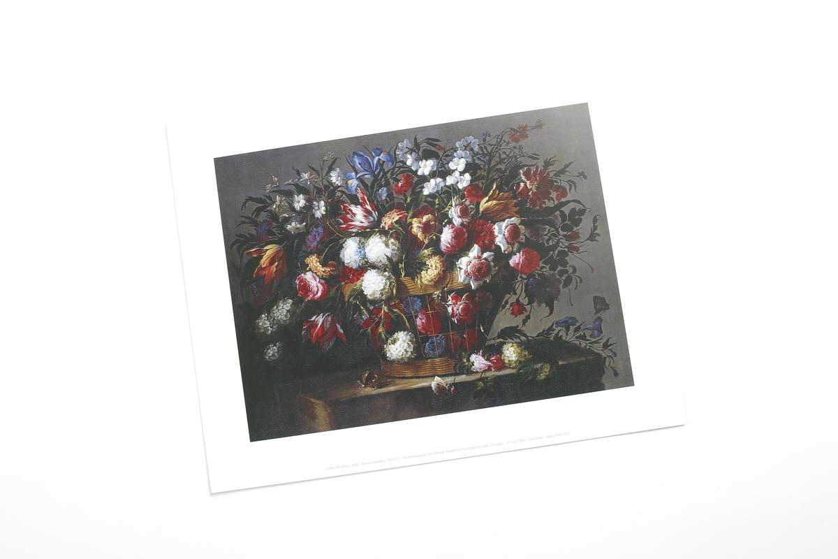 Miniprint, Brueghel, d.Ä. Blumenstrauß