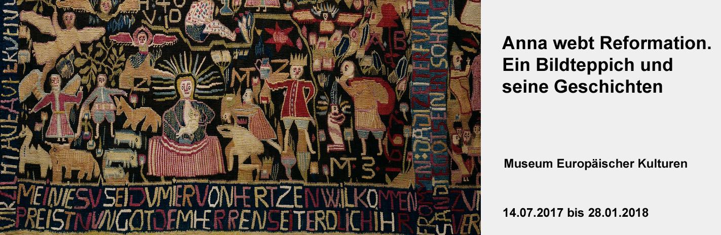 Anna webt Reformation. Ein Bildteppich und seine Geschichten