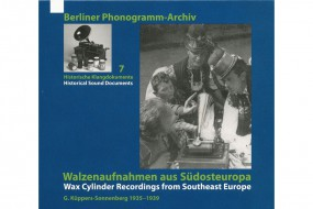 Wax Cylinder Recordings from Southeast Europe