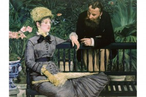 Art print Manet, In the Conservatory