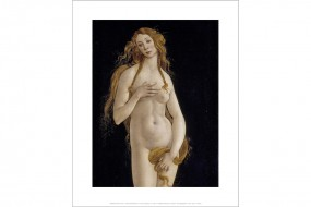Miniprint Botticelli, Venus